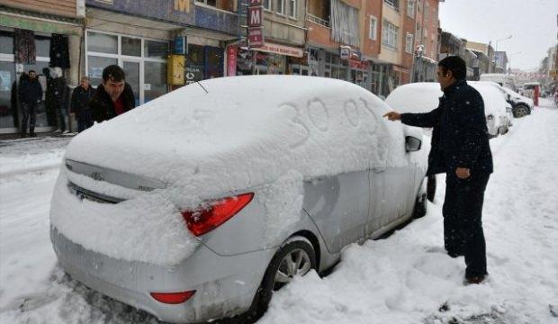 Doğu Anadolu bölgesi Mart ayında beyaza büründü