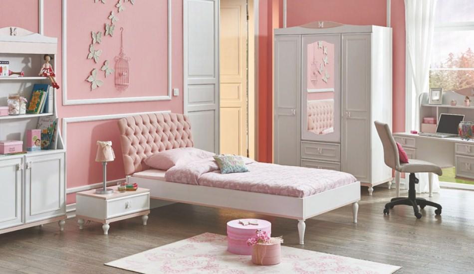 Genç kız odalarına özel dekoratif parçalar