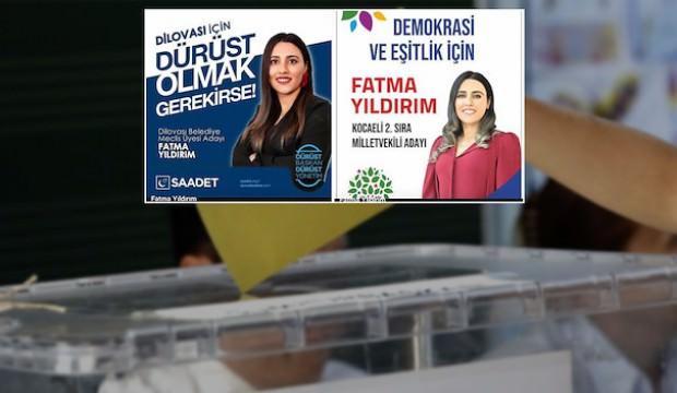 HDP'nin milletvekili adayı Saadet'ten aday oldu