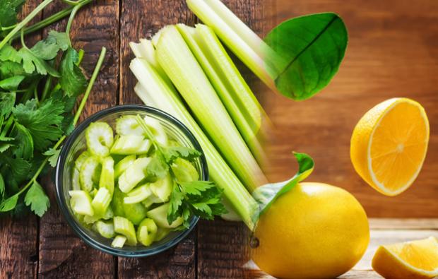 yağ yakan kereviz ve limon