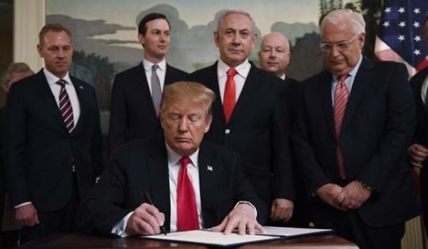 Katar'dan ABD'nin Golan kararına tepki