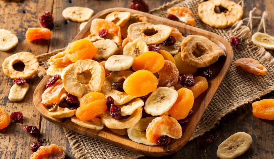 Kuru meyvelerin faydaları nelerdir? Düzenli kuru elma yerseniz ne olur?