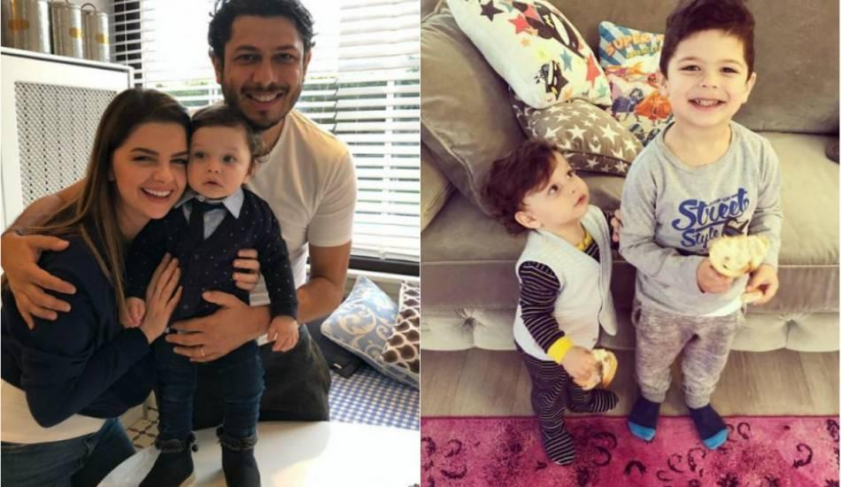 Pelin Karahan'dan oğlu Can Eyüp'e sürpriz doğum günü!