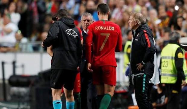 Portekiz'de Cristiano Ronaldo şoku!