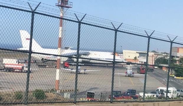 Rusya'dan Venezuela hamlesi! Dev uçak indi
