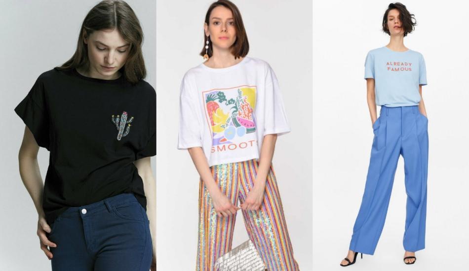 2019 t-shirt modası