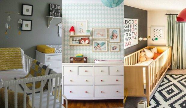 Sezonun trend bebek odası mobilyaları
