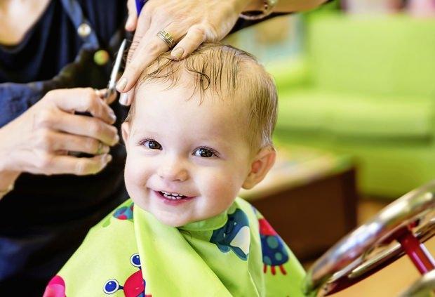 bebekleri tıraş etmek