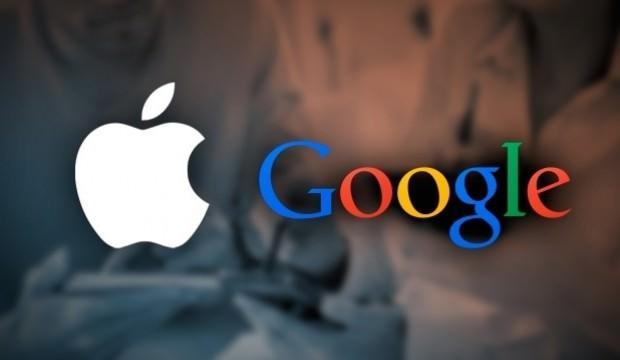Apple'dan Google'a tarihi çalım