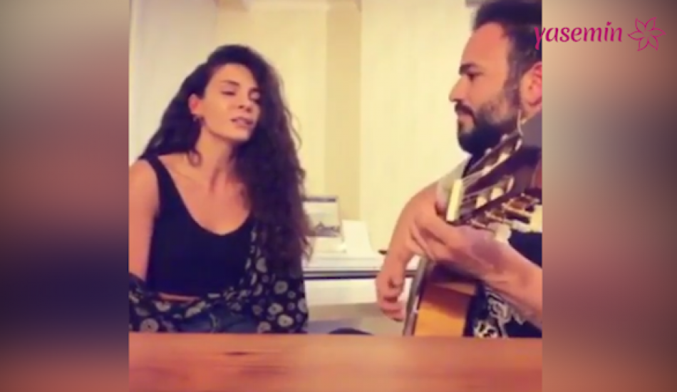Ebru Şahin'den akustik performans
