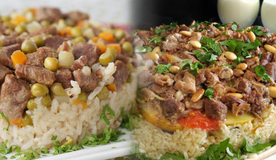 Enfes çevirme pilav nasıl yapılır? Sebzeli çevirme pilav tarifi