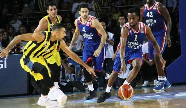 F.Bahçe ve Anadolu Efes'in play-off programı belli oldu