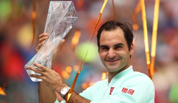 Miami Open'da şampiyon Federer!