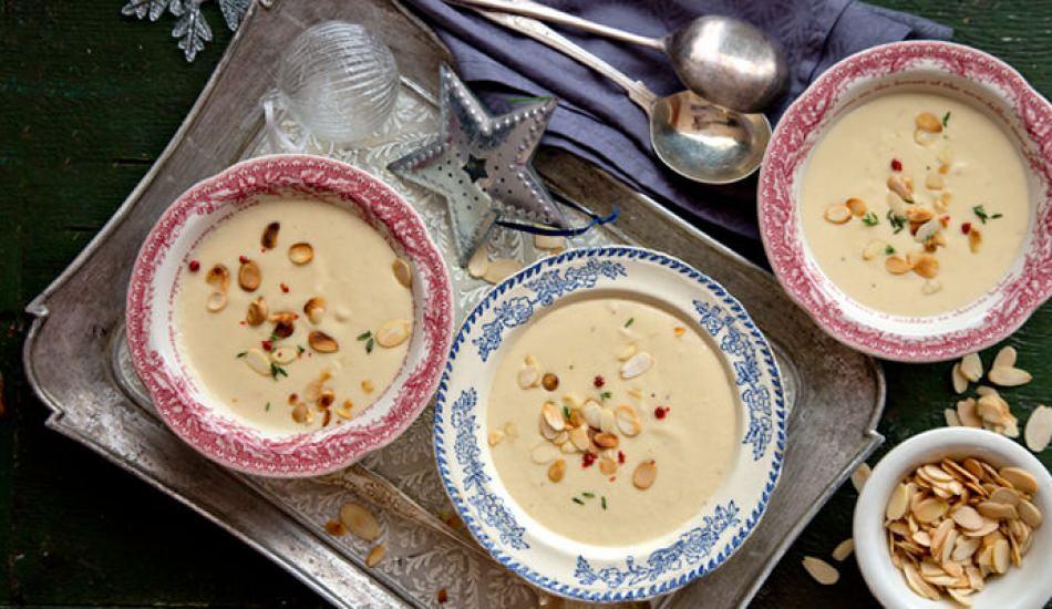 Nefis badem çorbası nasıl yapılır?