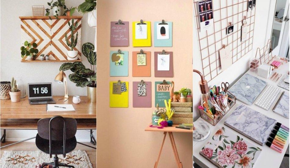 Ofis masalarınızı düzene sokacak dekorasyon önerileri