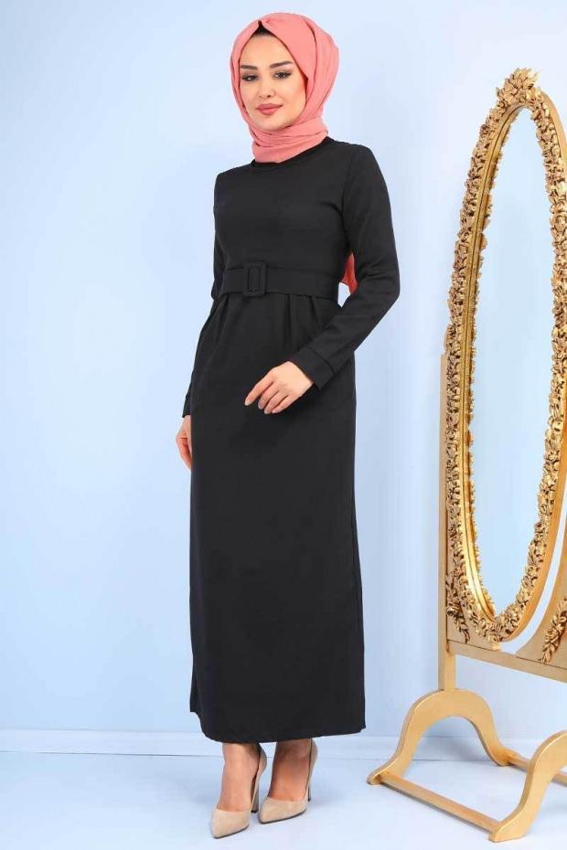 Tesettür modası elbise modelleri