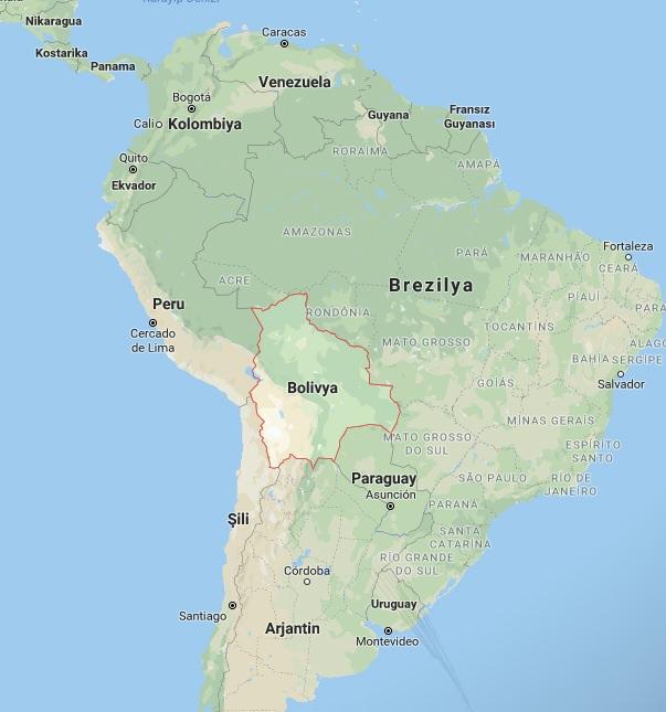 Bolivya, Venezuela'da Maduro'yu destekleyerek komuşlarından farklı bir tavır sergiliyor