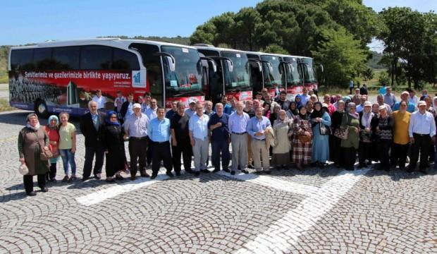 Bağcılar Belediyesi 11 bin kişiyi Çanakkale Şehitliği'ne götürüyor