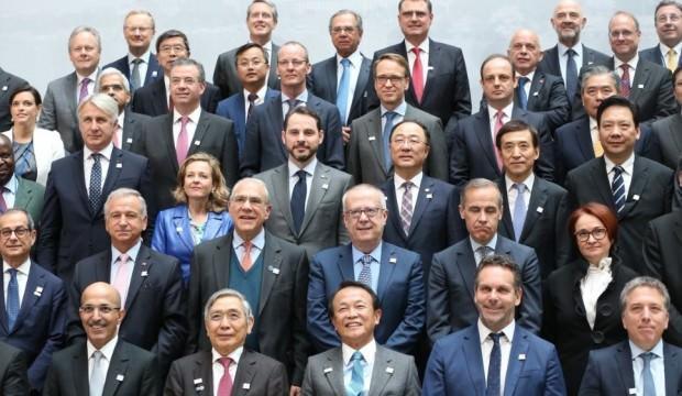 Bakan Albayrak 'G20 Aile Fotoğrafı' çekimine katıldı