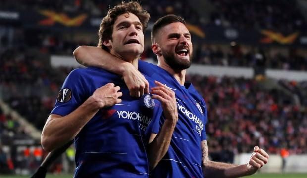 Chelsea 88'de avantajı kaptı!