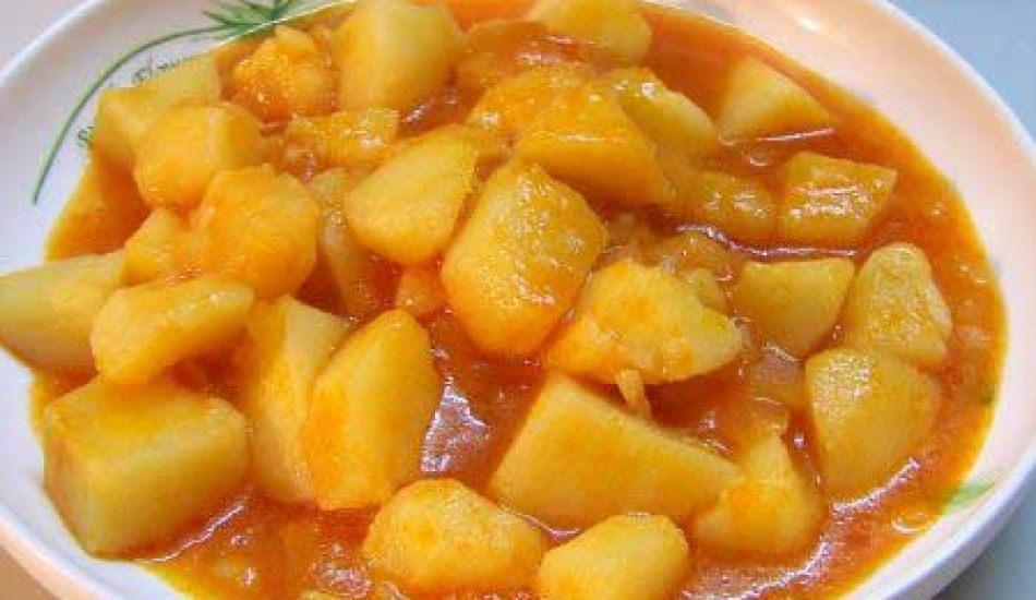 Enfes sulu patates yemeği tarifi