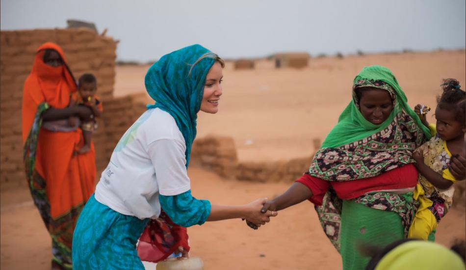 Gamze Özçelik Sudan'a sessiz kalmadı!