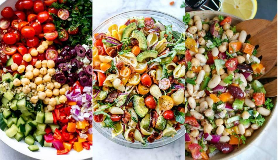 İftar için pratik ve farklı salata tarifleri