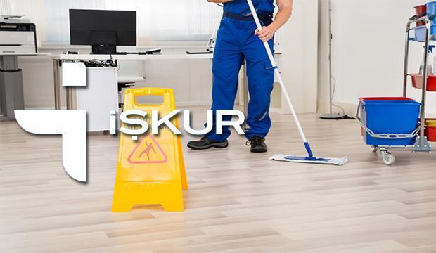 İŞKUR'dan farklı kurumlara temizlik görevlisi alımı! Başvuru şartları..