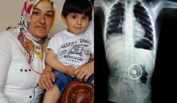 Küçük çocuğun hayatını annesi kurtardı