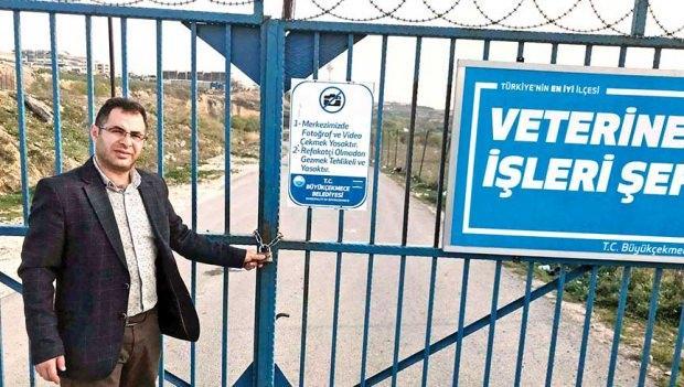 Seçmen listesinde 13 kişinin adresi CHP'li belediyeye ait köpek barınağı çıktı.