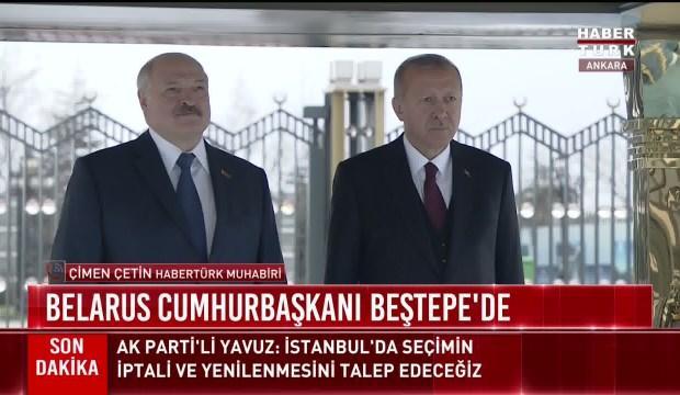 Kritik isim Beştepe'de resmi törenle karşılandı
