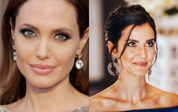 Angelina Jolie ve İrem Helvacıoğlu
