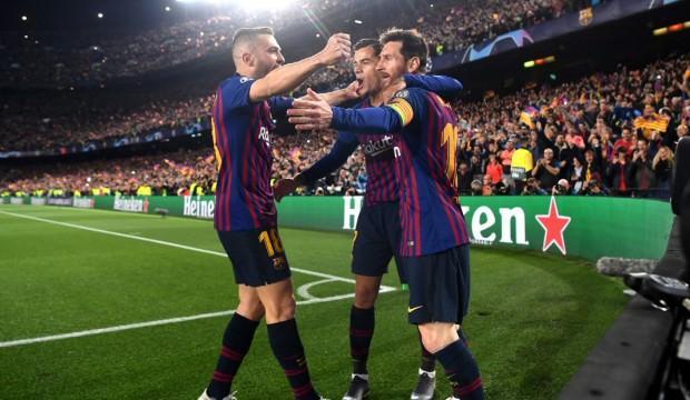 Barcelona ManU'yu sahadan sildi!