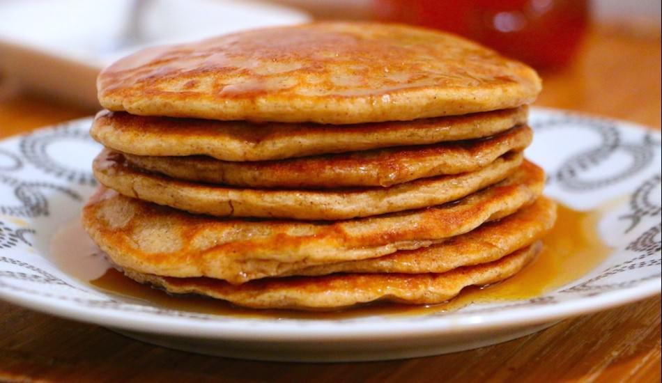 Diyete uygun kahvaltılık pankek tarifi