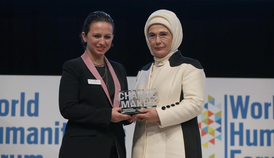 Emine Erdoğan'a Dünya İnsaniyet Forum'undan büyük ödül!
