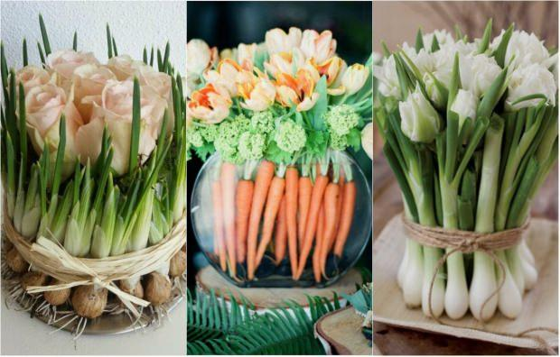 sebze çiçek