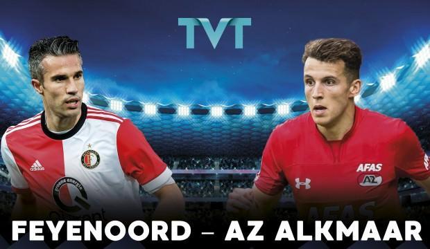 Feyenoord - AZ Alkmaar maçı TVT'de