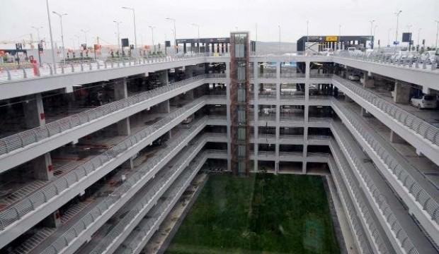 İstanbul Havalimanı'nda otopark ücretleri açıklandı