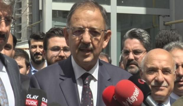 Mehmet Özhaseki: O konuda yetersiz kaldık