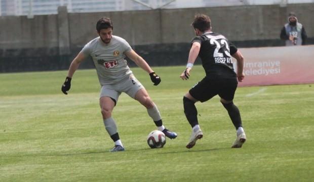 Ümraniyespor kaçtı Eskişehirspor yakaladı!