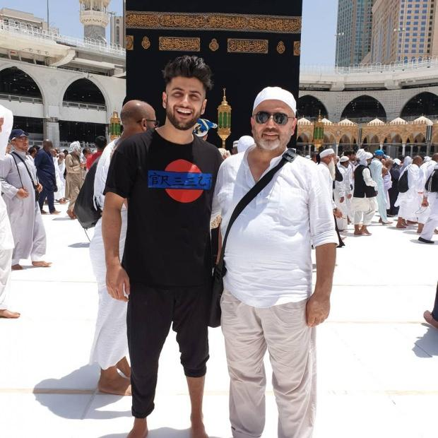 reynmen ve babası Rahmi Aktaş