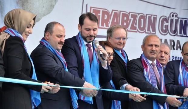 Bakan Albayrak: Bugün burası bize Trabzon olmuş