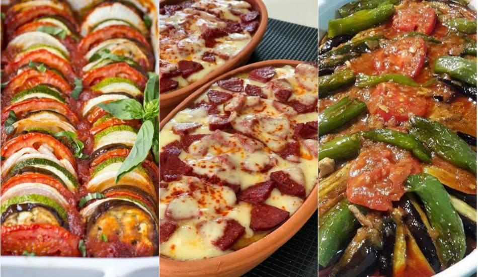 En pratik ve değişik iftar yemekleri