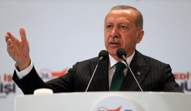 Erdoğan'dan İş Bankası'na cevap