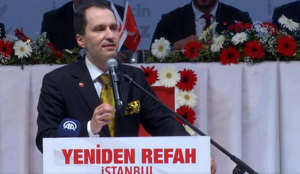Fatih Erbakan: İki şey yapacağız...