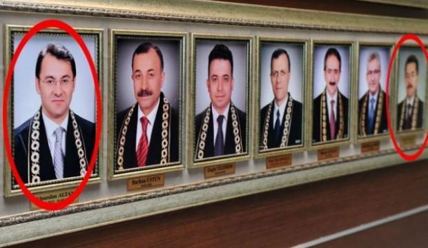 Skandal! Hala yüksek mahkemenin duvarındalar!
