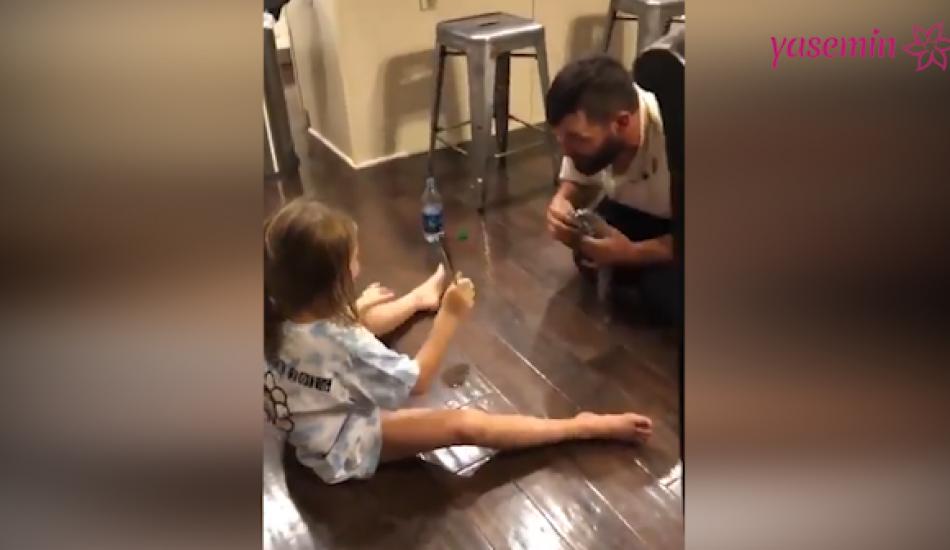 Kızını kandıran baba sosyal medyayı yıktı!