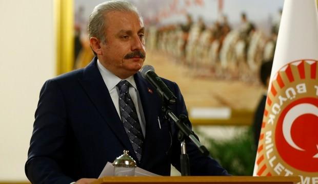 Şentop, şampiyon Galatasaray'ı kutladı
