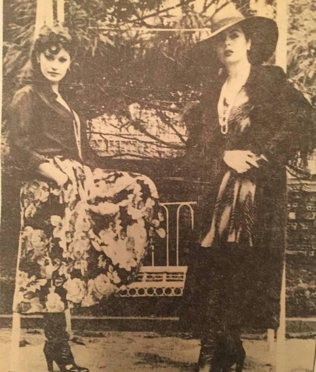 Gülşen Bubikoğlu ve Fatma Girik