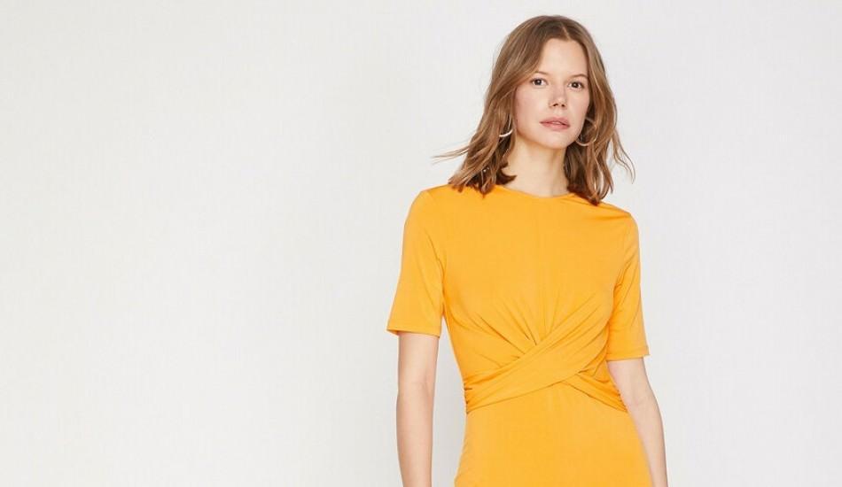 2019 ilkbahar yaz sarı renk modası